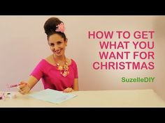 """7 January """"Takealot of this DIY Christmas Special with Suzelle"""". Episode How to get what you want for Christmas. Get What You Want, How To Get, How To Plan, Christmas Diy, Christmas Decorations, Funny New, Diy Videos, Christmas Inspiration, Make Me Smile"""