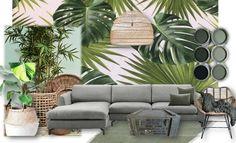 Urban Jungle Inspiratie : Home decor: the fabrics you need this summer