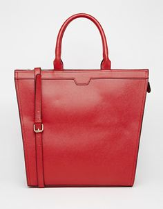 Image 1 of ASOS Clean Structured Handheld Bag