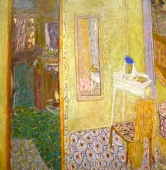 "bofransson:  Pierre Bonnard, ""Interior at Le Cannet"" (1938"