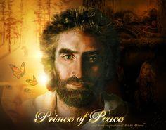 ❤️Jesus, Prince of Peace ~ Artist Akiane Painting