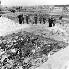 In April 1945, photographs and eyewitness accounts from camps like Bergen-Belsen gave the world a horrifying picture of Nazi depravity.