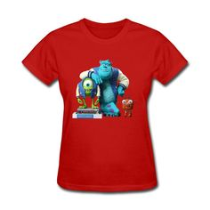 #MonstersUniversitymovietshirts #MonstersUniversityWomenstee #AdultGirlsteesinred #2016MonstersUniversityprettytshirt\ About the monster university movie of all kinds of T-Shirts,T-Shirts characteristic are interesting graphics, fabric is breathable and comfortable .BENEFITS1.Fabric helps keep you dry and comfortable.2.Rib crew neck with interior taping for comfort.PRODUC