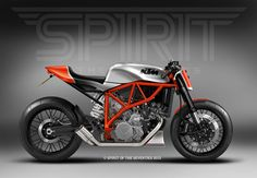 Spirit of the Seventies Customs KTM LC8.