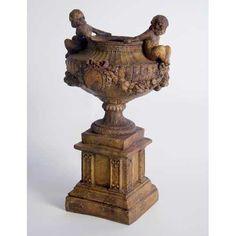 Small Decorative Urns Found It At Wayfair  Round Urn Planter  Landscaping  Pinterest
