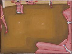 """Jerzy Nowosielski, """"Gimnastyczki"""" (1966)"""