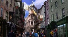 Diagon Alley: | New Pictures Reveal Magical Details About The Harry Potter Gringotts Ride At Universal Orlando