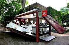 Shipping Container Houses (Follow Up) - The Illy House Blooms in 90 Seconds (GALLERY)