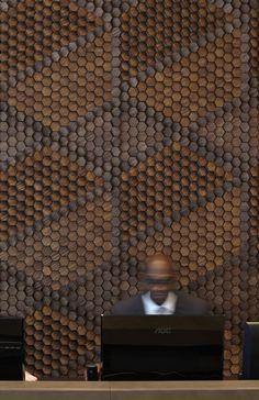 Revêtement mural en bois  MilK decoration