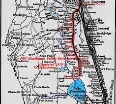 FEC Kissimmee Valley Extension Map