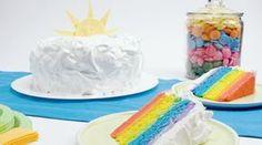 Rainbow Birthday Cake - Recipes - Best Recipes Ever