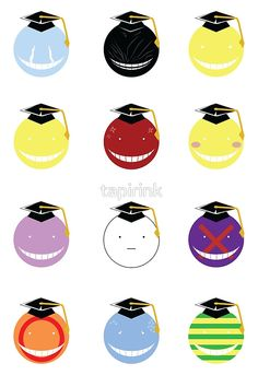Korosensei moods This poster... i want - Another pin closer to a million pins! Wrhel.com