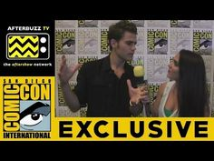 Paul Wesley (The Vampire Diaries) @ 2015 San Diego Comic-Con | AfterBuzz TV