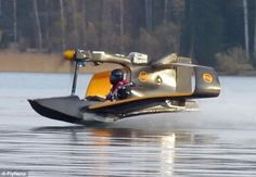 Is it a jetski? Is it a light aircraft? Revolutionary miniature electric flying boat could revolutionise personal air transport - Love Cars & Motorcycles Electric Aircraft, New Aircraft, Amphibious Aircraft, Electric Motor, Jet Ski, Float Plane, Experimental Aircraft, Cool Boats, Flying Boat