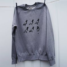 Spy Pigeon Mens Sweatshirt  #giftsforhim #giftideas #pigeon #streetstyle #menswear #illustration