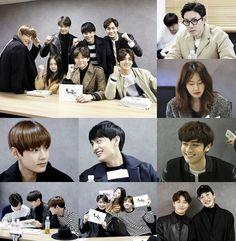 "[Picture] BTS V at Script Reading ""Hwarang: The Beginning"" [160405]"