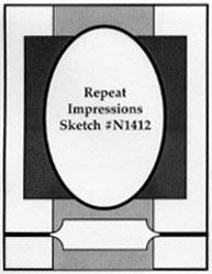 Repeat Impressions Sketch #N1412. Play along with our WHAT IF? Wednesday Sketch Challenges for your chance to win a Repeat Impressions gift certificate! - http://www.thehousethatstampsbuilt.com - #repeatimpressions #rubberstamps #cardmaking