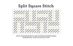 Split Square Stitch