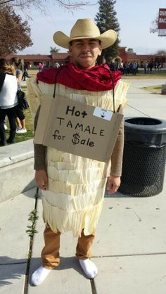 Hot Tamale costume ( missing cowboy boots ) for high school homecoming king candidate