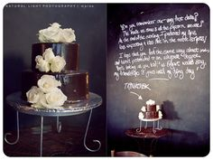 Love the bold, dramatic look with a playful twist! Natural Light Photography, Dramatic Look, The Make, Love Letters, That Way, Sheep, Dream Wedding, Lettering, Cake