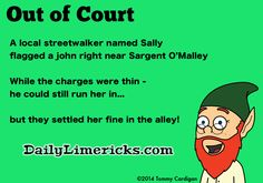 Funny limericks about dating