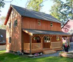 I love this board and batten siding!