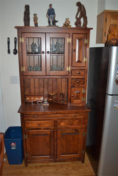 Amish Handcrafted Wooden Hutch 47833