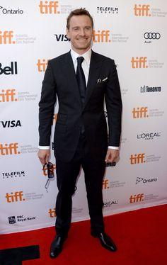 Michael Fassbender - 2013 Toronto International Film Festival