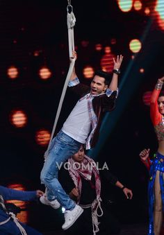 Varun Dhawan launches Sau Tarah Ke song from Dishoom on Sa Re Ga Ma Pa