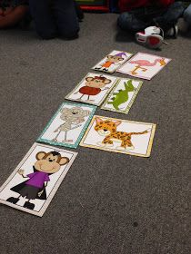 We are finishing up our unit on numbers this week. We ended the week with the book Five Little Monkeys. We have been working on buildi. Preschool Math, Fun Math, Five Little Monkeys, Book Activities, Trick Or Treat, Lesson Plans, The Book, Treats, Books