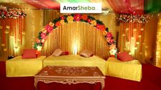 Wedding and Holud Stage Decoration Compnay in Dhaka Decoration, Decoration İdeas Party, Decoration İdeas, Decorations For Home, Decorations For Bedroom, Decoration For Ganpati, Decoration Room, Decoration İdeas Party Birthday. #decoration #decorationideas