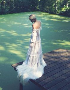 Gorgeous gown...dare to be different