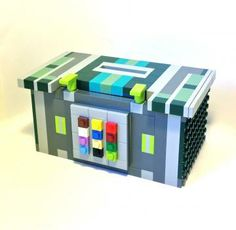 This Tzedakah Box is an addition to my growing line of LEGO® Judaica. A Tzedakah box makes an awesome gift and a fantastic addition to any home. Jewish Crafts, Jewish Art, Tzedakah Box, Hebrew School, Lego Club, Piggy Banks, Good Deeds, Lesson Planning, Lego Stuff