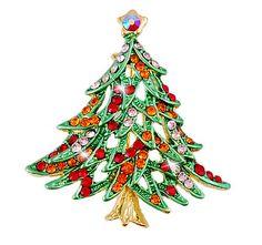 Merry-Christmas-Tree-Multicolored-Rhinestone-Crystal-Christmas-Brooch