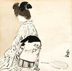 Kaburagi Kiyokata (1878-1972) 鏑木清方