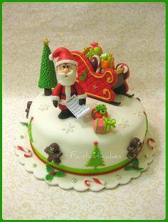 Santas Cake | Great Cake Art