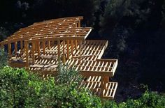 Wood Architecture, Pilot, Corse, Home, Timber Architecture, Pilots