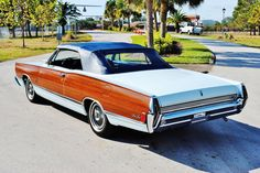 1968 Mercury Park Lane convertible.
