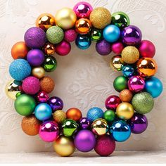 Christmas-55-Balls-Wreath-Door-Wall-Garden-Ornament-Garland-Hanging-Decoration