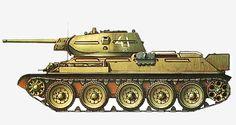 T-34-76 образца 1941 г. Юго-Западный фронт. Лето 1942.