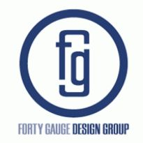 Forty Gauge Deisgn Group Logo. Get this logo in Vector format from http://logovectors.net/forty-gauge-deisgn-group/
