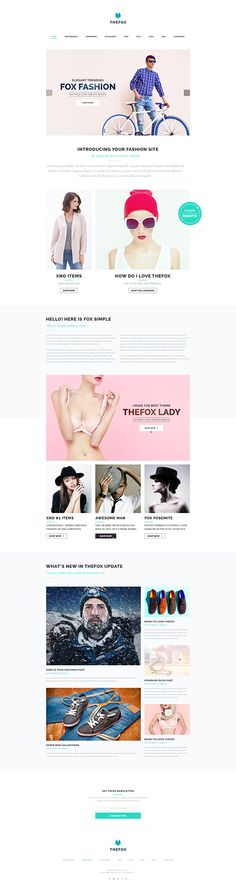 TheFox Simple Fashion on Behance