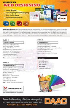 web Design course details