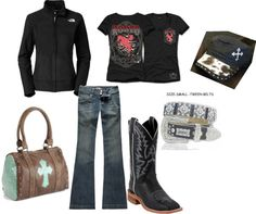 """""""Going Shopping"""" by rodeorosecowgirlboutique on Polyvore"""