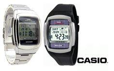 #Relógio DB-E30D - Pulseira em Aço inoxidável, movido a energia solar - #Casio. Por apenas R$ 269,99. Entrega para todo Brasil.