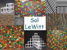 Leuke en informatieve powerpoint over Sol Lewitt voor 5, deze en nog vele andere kun je downloaden op de website van Juf Milou.