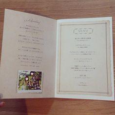 プロフィールブック   nico◡̈*blog 手作り結婚式