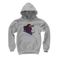 Jaromir Jagr Draw R Florida Officially Licensed NHLPA Youth Hoodie S-XL