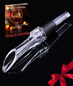 Wine Aerator  Wine Pourer By Le Petit HelperTM Wine Air Aerator Wine Aerator Pourer *** You can get more details by clicking on the image.