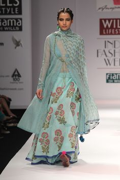 WIFW - Wills Lifestyle India Fashion Week. Anupamaa by Anupama dayal